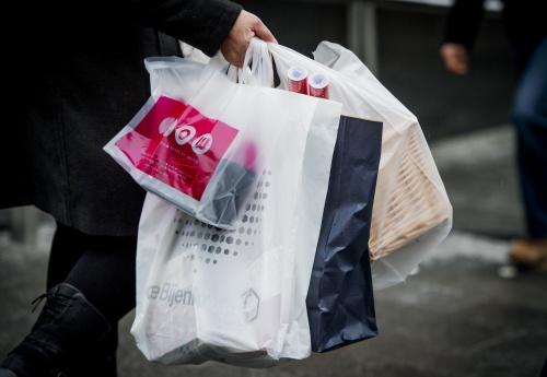 Gratis plastic tasje op 1 januari verboden