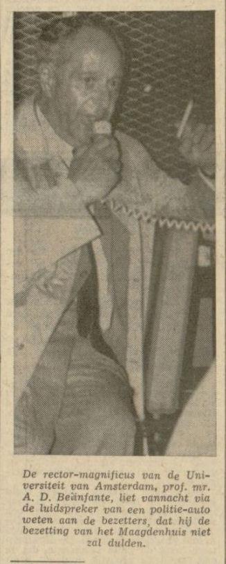 Uit de Leeuwarder Courant van 17 mei 1969