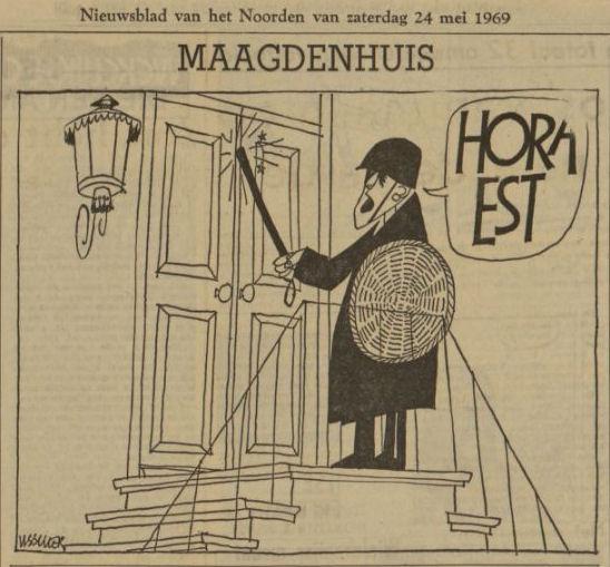 Uit het Nieuwsblad van het Noorden van 24 mei 1969