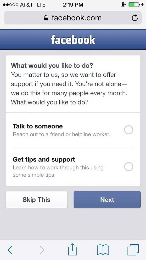 Facebookzelfmoord2