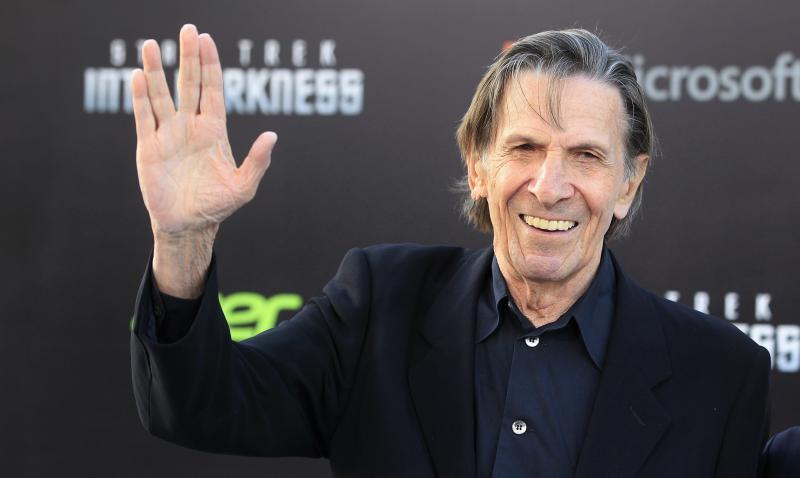 Rust zacht, Mister Spock.