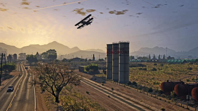 Grand Theft Auto V op pc (Foto: Rockstar)