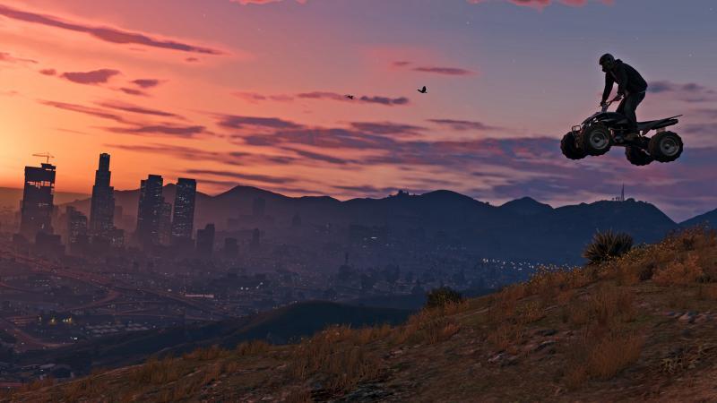 Grand Theft Auto V op pc (Foto: Rockstar)