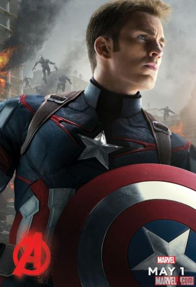 Avengers: Age of Ultron poster - Captain America