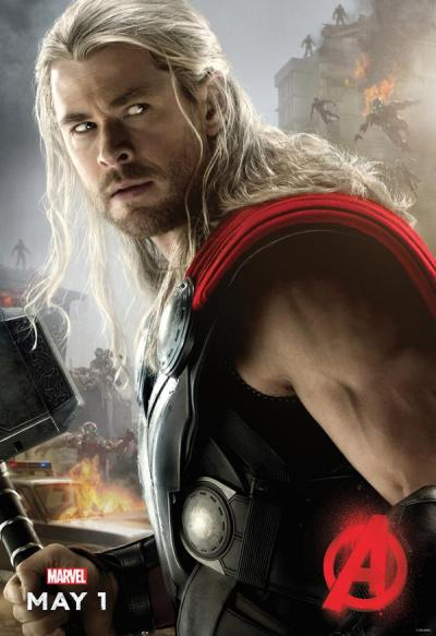 Avengers: Age of Ultron poster - Thor