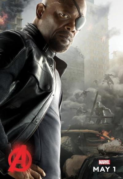 Avengers: Age of Ultron poster - Nick Fury