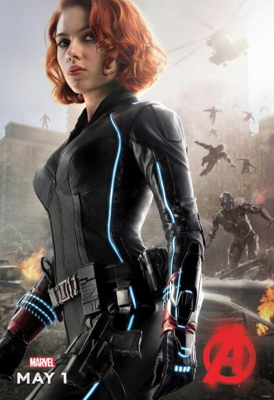 Avengers: Age of Ultron poster - Black Widow