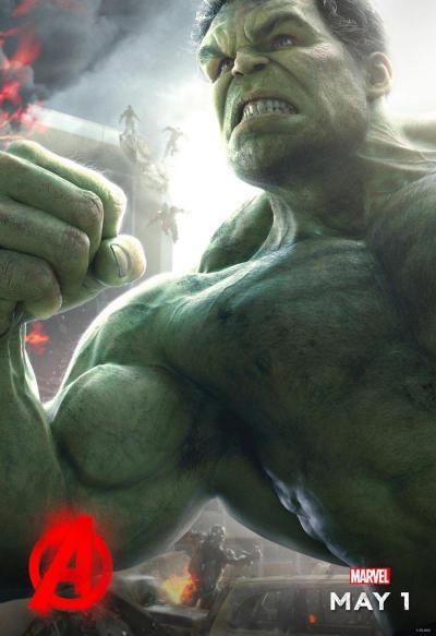 Avengers: Age of Ultron poster - Hulk