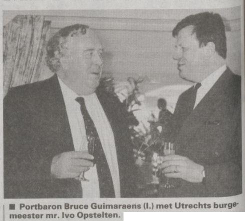 Uit de Telegraaf van 25 maart 1994