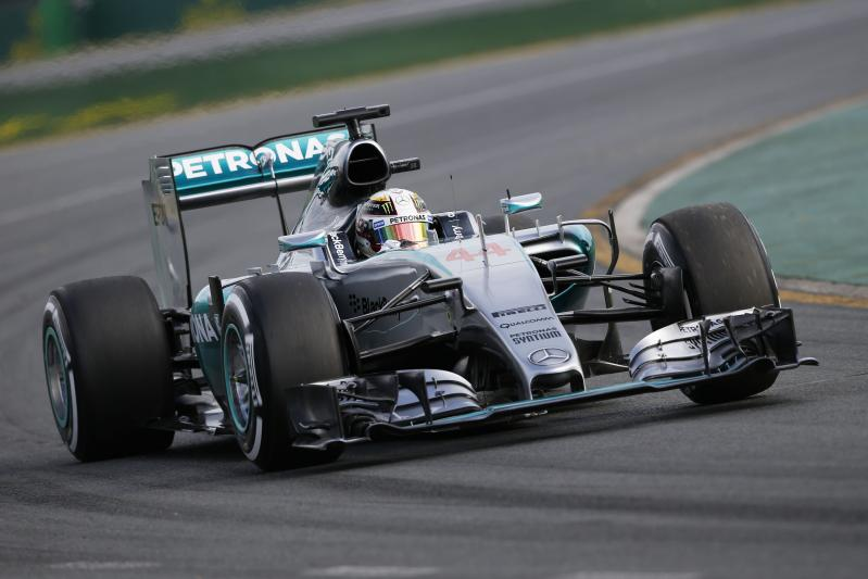 Lewis Hamilton wint eenvoudig de Grand Prix van Australië (Pro Shots/Zuma Sports Wire)