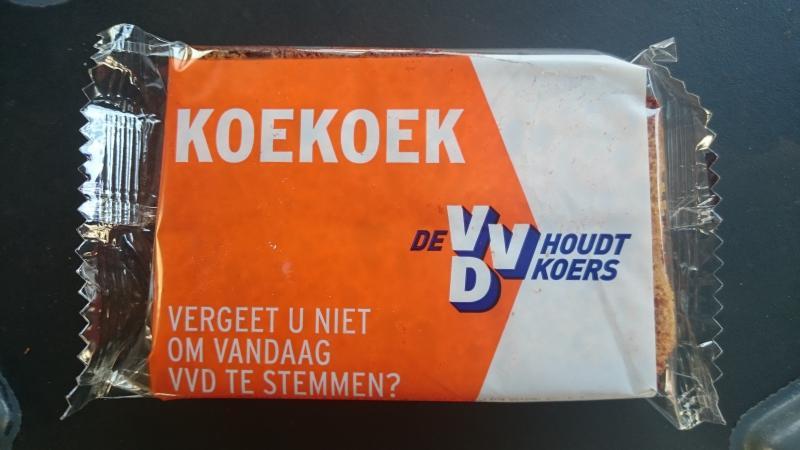 Campagnekoek VVD