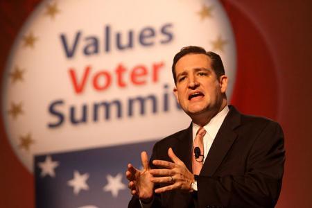 Presidentskandidaat Ted Cruz