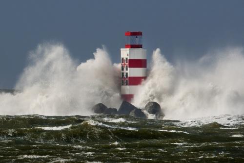 Storm over hoogtepunt, maar nog wel gevaar