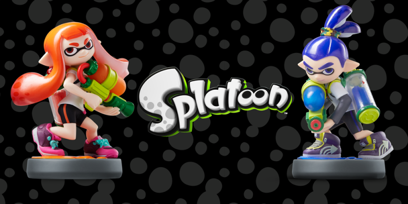 Splatoon Amiibo's