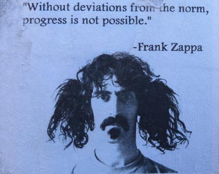 Frank Zappa spreekt