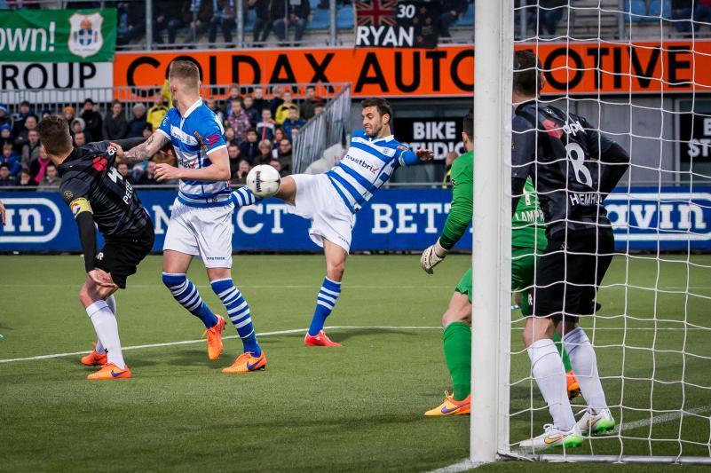 Van Polen bezorgde Zwolle de 1-0 zege (Pro Shots/Ronald Bonestroo)