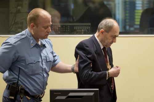 Weer levenslang voor rechterhand Mladic
