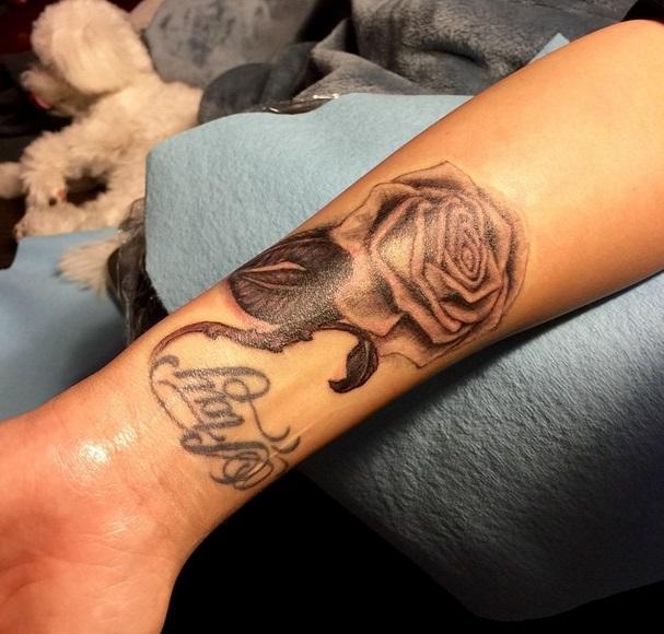 demi lovato roos tattoo