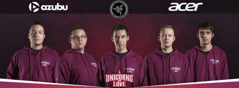 Unicorns of Love teamfoto