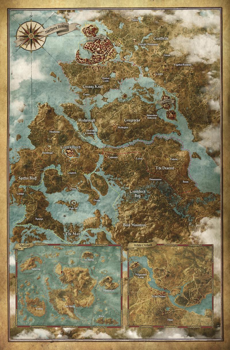 De kaart