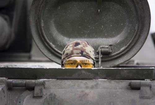 OVSE ziet zware wapens bij front Oekraïne