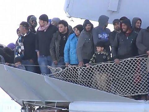 Vluchtelingen- en migrantencrisis Middelandse Zee