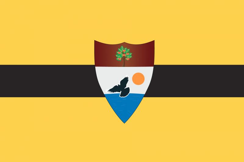 Vlag van Vrije Republiek Liberland (Foto: liberland.org)