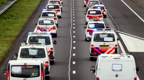 Geen problemen tijdens snelwegactie politie