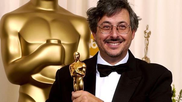 Andrew Lesnie met zijn Academy Award