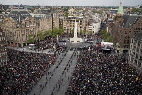 Nederland staat stil bij oorlogsslachtoffers