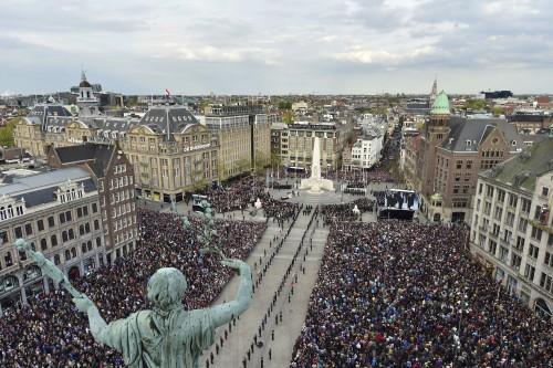 Nederland stil voor oorlogsslachtoffers