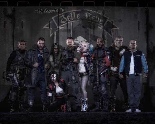 Suicide Squad groepsfoto