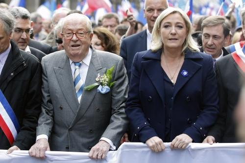 Le Pen schaamt zich voor Le Pen