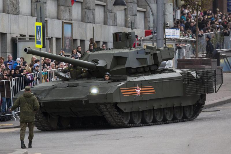 Rusland presenteert T-14 Armata (Foto: Weinsteinalex, Wikipedia)
