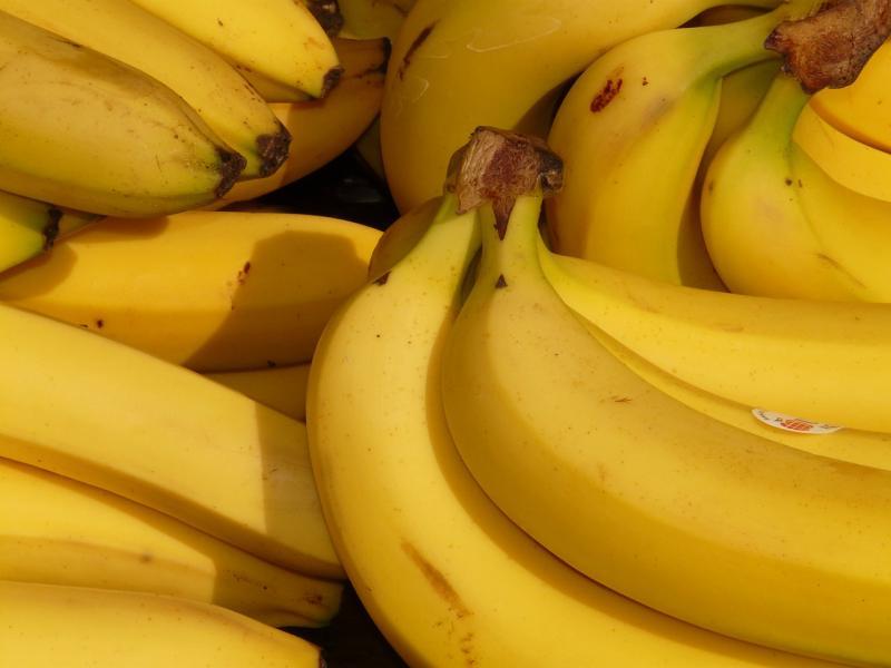 Cocaïne tussen bananen bij Aldi (Foto: Hans Braxmeier, Pixabay)