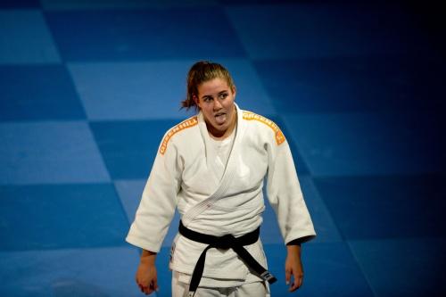Judoka Steenhuis wint goud in Bakoe