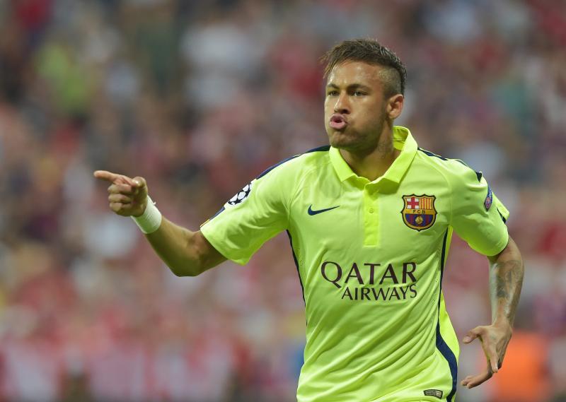 Neymar scoorde tweemaal voor Barça. (PRO SHOTS/Witters)