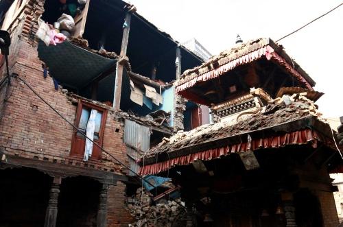 Paniek in Kathmandu door nieuwe aardbeving