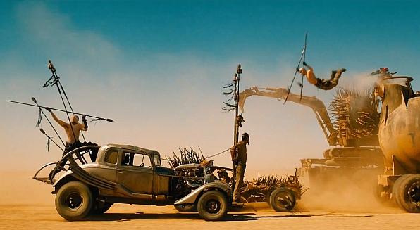 Mad Max achtervolging