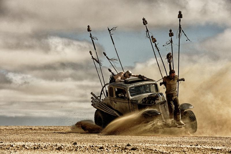 Mad Max Max op truck