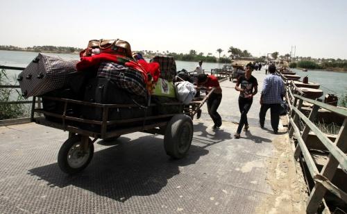 Tienduizenden mensen ontvluchten Ramadi