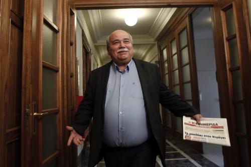 'Griekenland kan IMF-rekening niet voldoen'