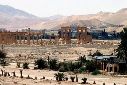 'IS richt bloedbad aan in Palmyra'