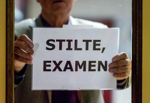 Recordaantal klachten over examens