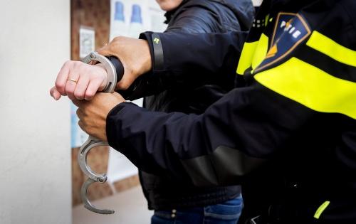Arrestaties bij demonstratie vluchtelingen