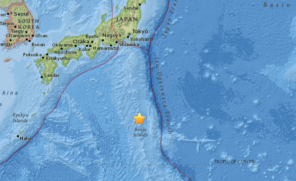Aardbeving Japan (Foto: Conflict News)