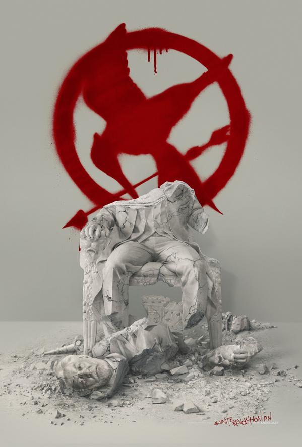 Teaser Poster Mockingjay - Part 2