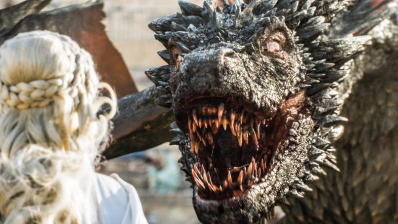 Game of Thrones 5X09 Drogon