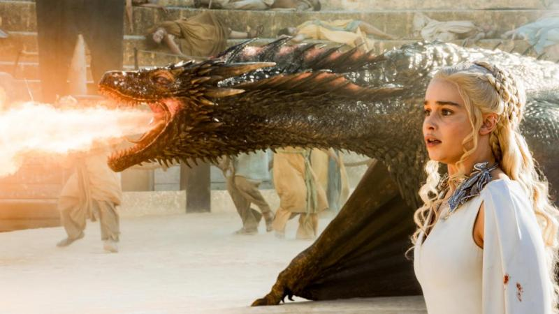 Game of Thrones 5X09 draak