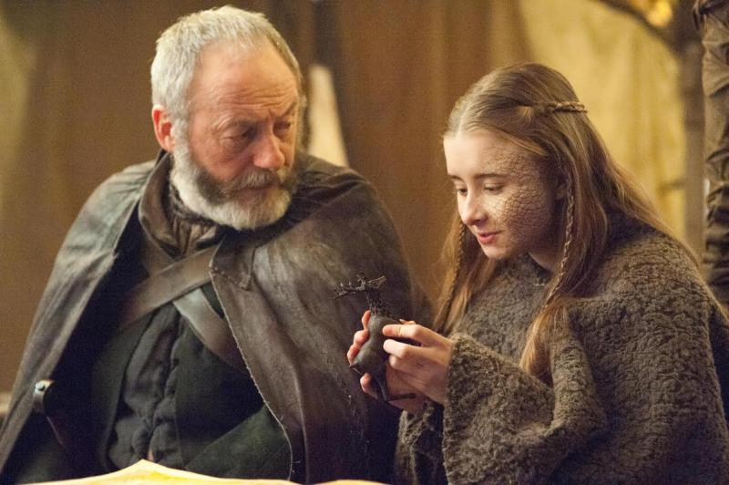 Game of Thrones 5X09 Davos en Sireen